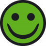 groen smiley